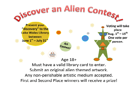 Summer 2019 Artwork Contest