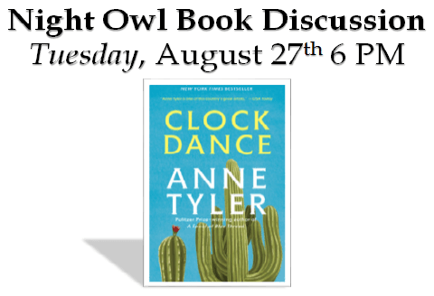 August Night Owl Book Club