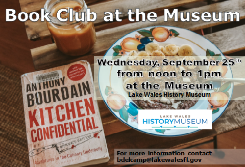 September Museum Book Club