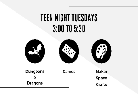 Teen Tuesday Nights Games