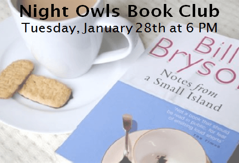 January Night Owl book club