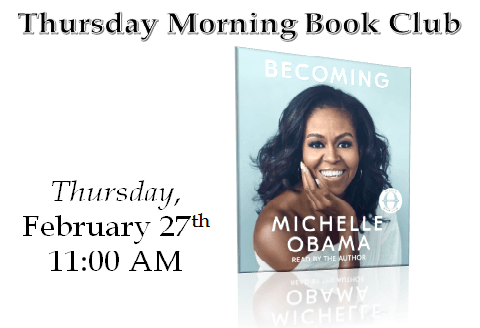 February Thursday Morning Book club