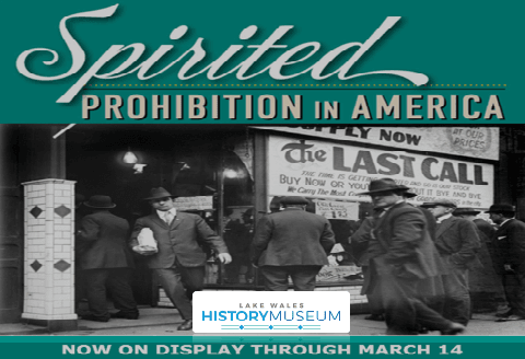 Prohibition Exhibit at the Museum