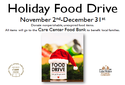 holiday food drive 2020