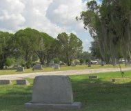 Lake Wales Cemetery In the Shade